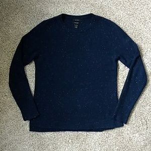 Halogen Donegal Cashmere Sweater